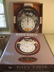 Freedel Rhythm SMALL WORLD Clock Crystalized wtih Swarovski! In box, Cinderella