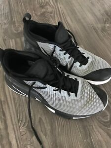 Nike Lebron Witness II EP 2 James Black Grey Shoes