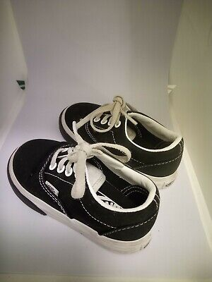 VANS AUTHENTIC INFANT SIZE SHOES FOR TODDLERS BLACK WHITE Size 6