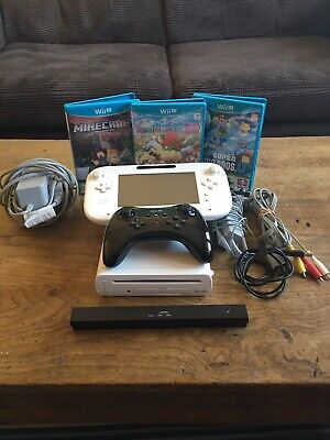 Nintendo Wii U 8GB Handheld System - (WUPSWAAB) With Pro Controller and Games
