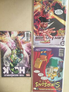 Comics various titles