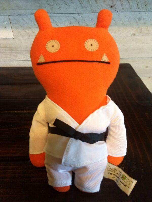 UGLYDOLL Tae Kwon Wage~4036802~Rare Plush Orange~GUND~2013~Used