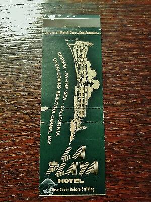 Vintage Matchcover: La Playa Hotel, Carmel-By-The-Sea, CA 11