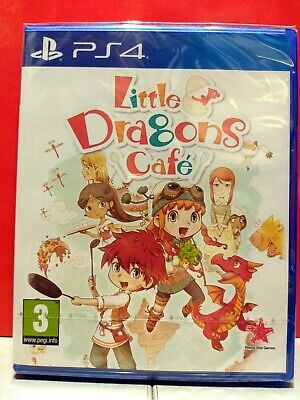 Little dragons Café (Playstation 4, 2019) NUOVO sigill.ITA incl.