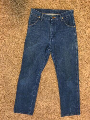 Wrangler 13MWZBP Denim Blue Jeans Boys Youth Size 16 Regular