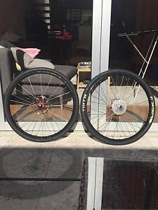 Shimano Deore Wheels (Slicks) - with wheel bags Paddington Eastern Suburbs Preview
