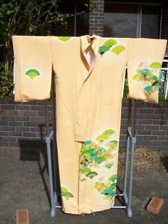 1924 Authentic silk Kimono in a fan design typical of Art Deco Mount Melville Albany Area Preview