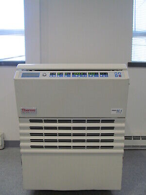 Thermo Rc-4 Refrigerated Large Cabacity Centrifuge W 500ml Blood Bag Adapters