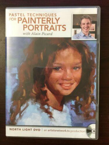 Pastel Techniques for Painterly Portrait Drawing - Art Instruction DVD
