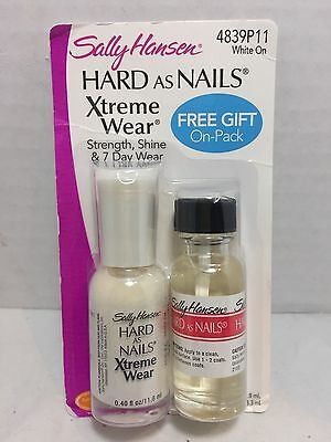 Sally Hansen HardAsNails Xtreme Wear & Hard as Nails Clear Nail Polish (Variety) Clear Nail Polish