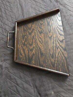 antique oak Wood crumbs tray