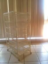 ALGOT Frame/6 mesh baskets, white Greenacre Bankstown Area Preview