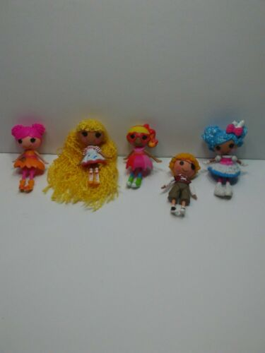 Mini Lalaloopsy Dolls Lot Of 5 - $8.00