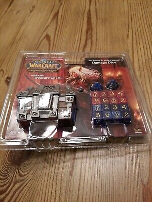 World of Warcraft WOW Treasure Chest Damage Dice TCG NEW -