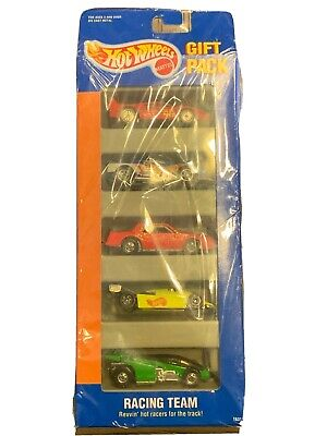 1994 HOT WHEELS Racing Team 5 Car Gift Pack #1631 NEW In Box Stock Chevy Ferrari