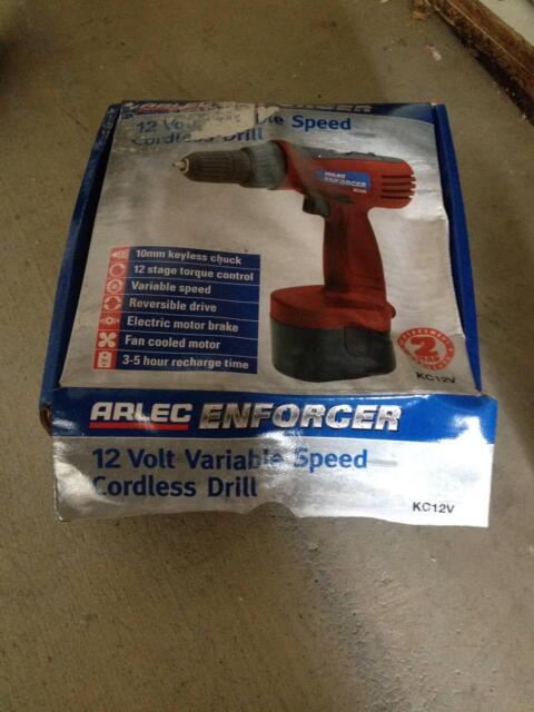 Arlec Cordless Drill Set 12v Power Tools Gumtree