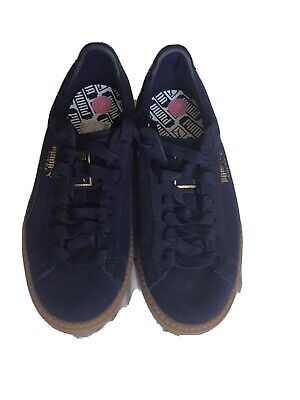 Puma Platform Trace Cleated Lace-up Trainers Blue Size 5