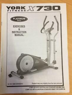 York Cross Trainer X730
