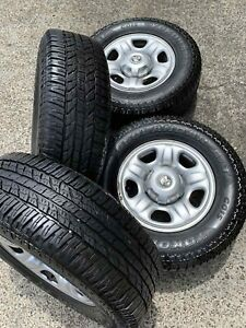 4x 245/70R16 YOKOHAMA A/T Tyres with wheels Virginia Brisbane North East Preview