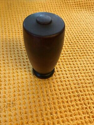 Vintage Treen Wooden Turned Bed Post Cap