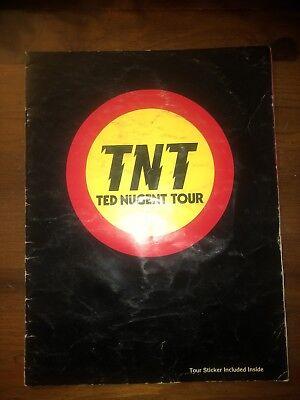 Ted Nugent Original 1978 TNT Tour Book
