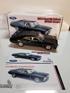 Di cast model cars 1:18. 1973 Ford XA Falcon GT RPO83 Coupe,