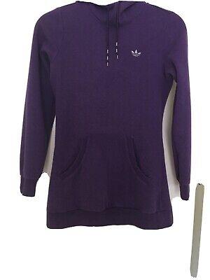 Ladies Adidas Purple Hoodie/jumper