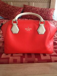 Red Kate Spade Purse 100$