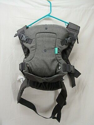 Infantino Flip Advanced 4-in-1 Convertible Carrier Gray USED
