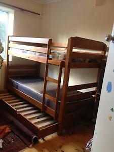 Timber bunk bed with trundle Aldgate Adelaide Hills Preview
