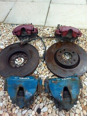 Vauxhall Gsi Brake Calipers With 308mm Discs Pads Astra Zafira Corsa Opel