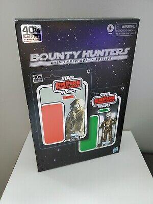 "Star Wars Black Series 4-LOM Zuckuss Bounty Hunters 40th Anniversary Amazon 6"""