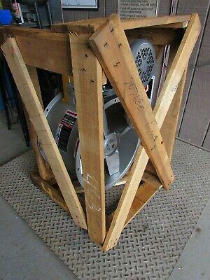 Cincinnati Fan Baf-18 Tube Axial Fan 18 2hp 3ph 230460v 1750 Rpm New