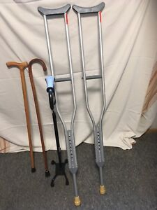 Crutches and canes