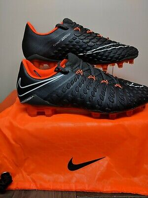 f4b616e53f3 Nike Hypervenom Phantom 3 III Elite DF FG Grey Orange Soccer Cleats  AH7273-081