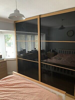 IKEA 'PAX' WARDROBE -Doors, Shelves, Drawers, Hanging Rails, Etc GRAB A BARGAIN!