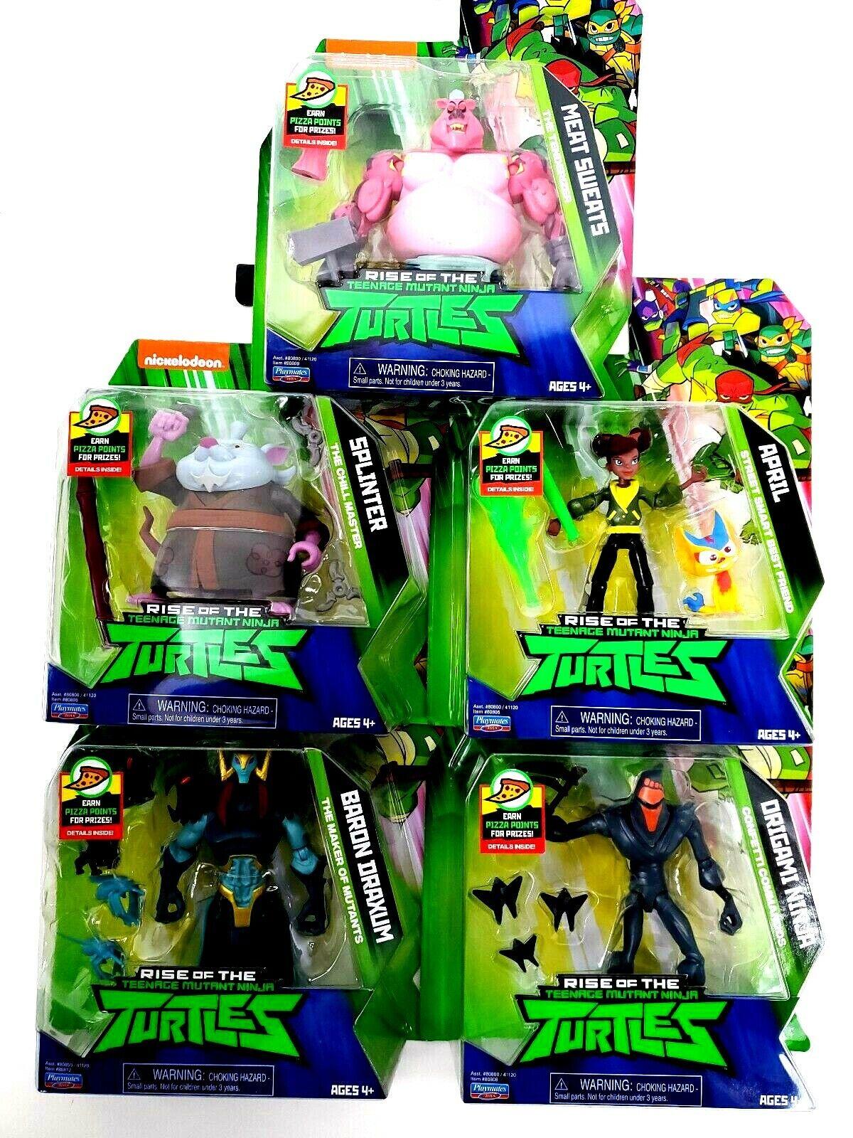 Nickelodeon TMNT CHOICE Teenage Mutant Ninja Turtles Action Figures Sealed