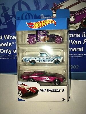 2019 HOT WHEELS 3 PACK,BONE SHAKER,RANCHERO & MORE,NICE SET,TAKE A LOOK!!!!!!!!!