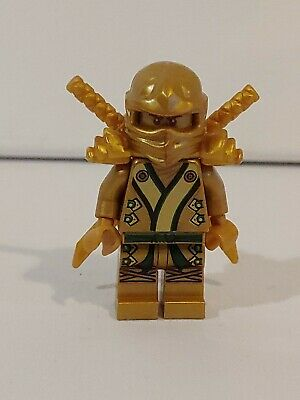 New LEGO Ninjago Gold Lloyd Ninja ZX Spinjitzu Master Swords 70503 70505 71239