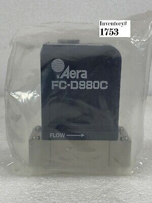 Aera Fc-d980cb D980c Mass Flow Controller 9sccm Ch3f Used Working