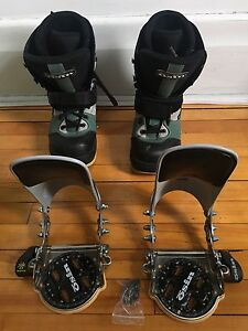 Bottes & Fixations  Step-in Osin Bindings & Boots snowboard