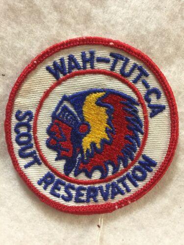 (jab-20)   Boy Scouts - Wah-Tut-Ca Scout Reservation patch