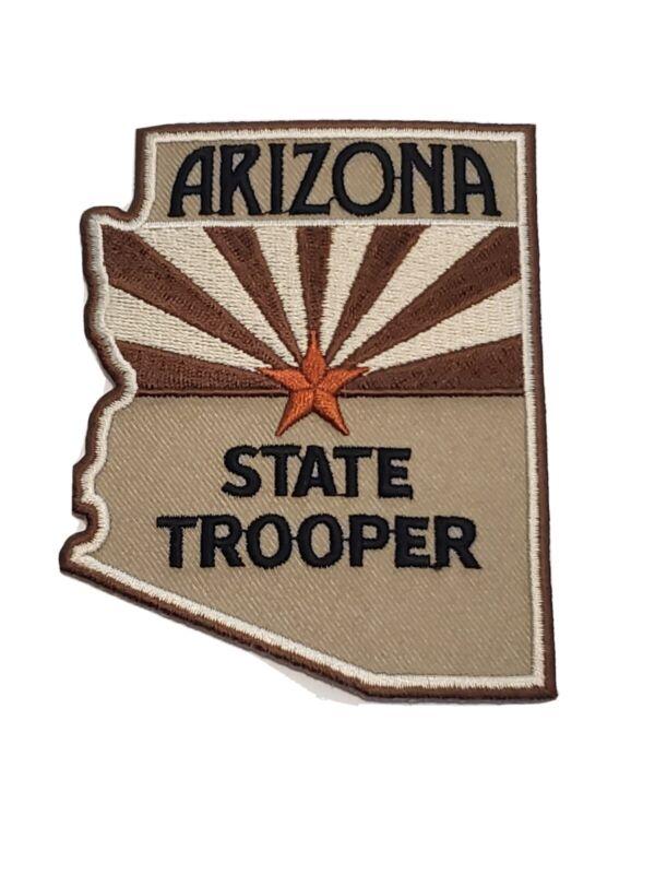 Arizona State Trooper Desert Tan Patch