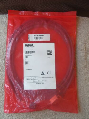 NEW SIEMENS 6RY18070AP00 CONNECTOR CABLE 6RY1807-0AP00 6RY1807 0AP00
