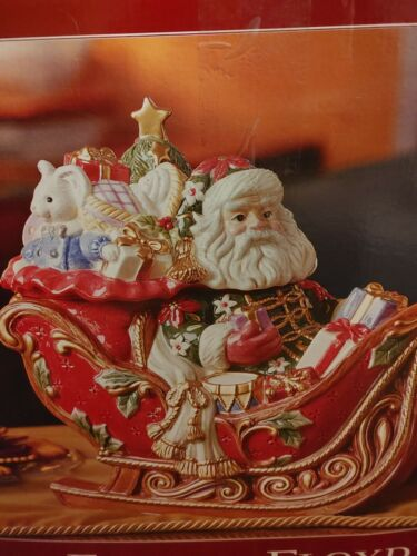 fitz and floyd santa