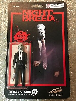 Electric Fang DR PHILIP K DECKER Nightbreed Figure Toy Clive - Dr Decker