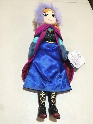 Nwt Disney Store Frozen Anna Plush 20