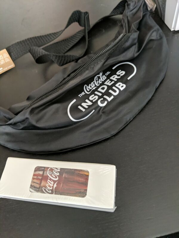 Coca Cola Coke Feb Insiders Club 2021 Playing Cards Deck And Fanny Pack