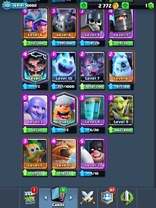 Clash royale and clans account