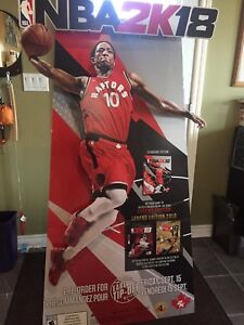 Demar Dezoran Cardboard Cut Out  2K18